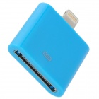 30Pin to 8Pin Lightning Adapter for iPhone 5 / iPad Mini / iPad 4 - Blue