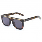 OREKA E9E99 Fashion Tortoise-shell Frame UV400 Protection Sunglasses - Amber