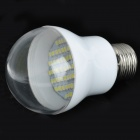 Daiwl E27 4.2W 220V 360lm 60-SMD 3528 LED White Light Bulb - White (AC 100~240V)