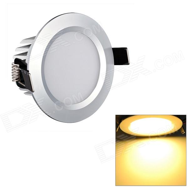 HTD692 5W 450lm 3200K Warm White 10-SMD 5730 LED Ceiling Down Light w/ LED Driver - Silver lexing lx r7s 2 5w 410lm 7000k 12 5730 smd white light project lamp beige silver ac 85 265v