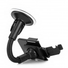 360 Degree Rotatable Car Holder for Iphone 5 + More - Black