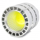 E27 5W 450lm 6500K 1-LED White Light Bulb - Silver + White (AC 85~265V)
