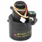 2812DB.IR-M12 2.0MP IR Security Surveillance Camera Lens - Black