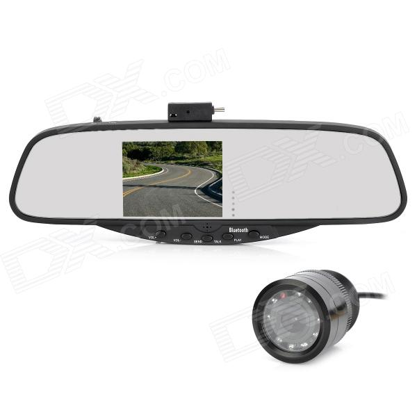 WiindStone BT728SE 3.5 TFT Bluetooth 2.0 + EDR Rearview Mirror w/ Camera george f kennan at a century s ending – reflections 1982 – 1995