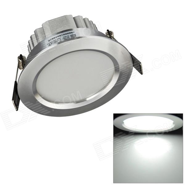 H! Win HTD693 7W 630lm 6400K White 14-SMD 5730 LED Ceiling Down Light w/ LED Driver - Silver