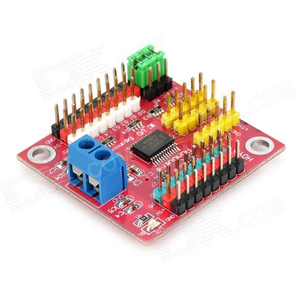 Funduino Control I2C to GPIO Module - Red