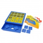 Xiao Guai Dan ZM8806 Brain Training Logic & Creativity Numbers Game Toy - Blue