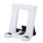 Universal Folding Adjustable Stand Holder for Cell Phone - White