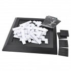 Xiao Guai Dan 0505 Educational S-Tris Cards & Squares Table Game - Black + White