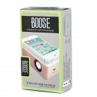 Portable Amplifying Sense Speaker for Iphone 4 / 4S / 3G / Touch 4 / Samsung / HTC / Nokia - Pink