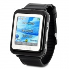 "AoKe 09 GSM Watch Phone w/ 1.44"" Resistive Screen, Triple-Band, Single-SIM, Bluetooth, FM - Black"