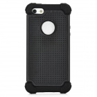 3-in-1 Protective Detachable Back Case for Iphone 5 - Black