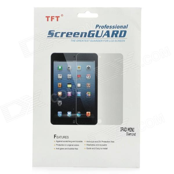 Diamond Effect Protective Glossy PET Screen Protector Guard Film for Ipad MINI - Transparent
