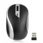 G-179 2.4GHz 1000dpi Wireless Optical Mouse - Black + Silver