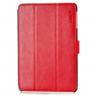 ENKAY ENK-3301 Protective PU Leather Case w/ Stand for iPad Mini - Red