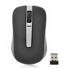 Rapoo 6610 2.4GHz Dual-Mode USB Wireless 1000dpi Optical Mouse - Black + Silver