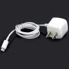 AC Power Adapter / Charger w/ 8-pin Lightning Cable for iPhone 5 - White