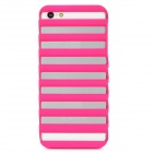 Stage Shape Protective PC Back Case for iPhone 5 - Deep Pink