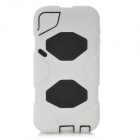 Robot Style Protective Full Body Case for Ipod Touch 5 - White + Black