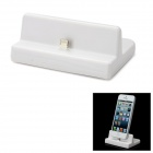 8pin Lightning Charging Dock Station for iPhone 5 / iTouch 5 / iPad Mini / iPad 4 - White
