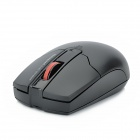 Motospeed G310 Fashion Wireless 1000dpi Optical Mouse - Black + Red (1 x AA)