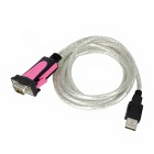 USB 2.0 Male to RS232 Serial Male Adapter Cable (180cm)