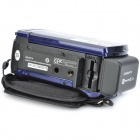 "Kenuo 601P 3.0"" TFT LCD 720P 3.0MP 16X DVR Video Recorder Camcorder w/ MMC / SD - Deep Blue"