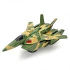 Automatic Deformation Electronic Tank + Airplane - Army Green (3 x AA)