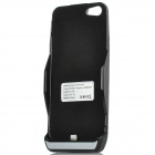 External 2800mAh Battery Back Case for iPhone 5 - Black + Blue