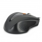 USB 1000 / 1200 / 1600dpi Wired Optical Gaming Mouse - Black (140cm-Cable)