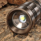 NEW-X2 950lm 5-Mode White Zooming Flashlight w/ CREE XM-L T6 - Coffee (1 x 18650 / 1 x 26650)