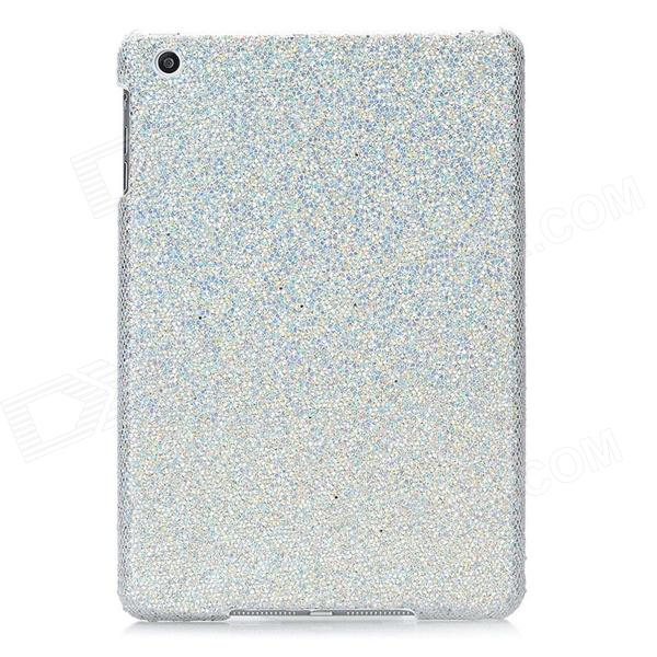 Stylish Protective Colorful Shinning Plastic Case for Ipad MINI - Silver