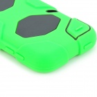Robot Style Protective Plastic + PC Back Case for Ipod Touch 5 - Green