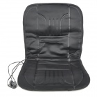 Car Winter Electrical Heat Warming Seat Pad - Black