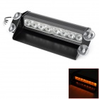51057 4W 590nm 400lm 8-LED Yellow Light Strobe Lamp / Caution Warning Light (DC 12V)