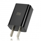 Мини 2-Flat-Pin Plug Power Adapter для iPhone 4 / 4S / 5 - черный (100 ~ 240 В)