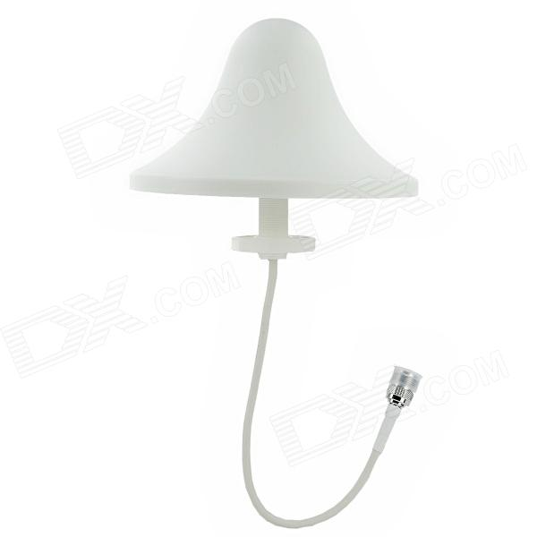 Indoor 800-2500MHz Ceiling Antenna Adapter for GSM / CDMA / PCS / 3G / WLAN Network ( N Female)