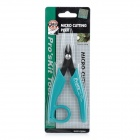 Pro'sKit 8PK-101D Ultra-Slim Blade Angled-Head Micro Cutting Pliers - Green + Black