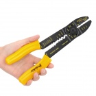 Pro'sKit 8PK-313B 5-in-1 Wire / Bolt Cutter + Crimping Stripping Tool - Yellow + Black