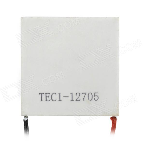 TEC1-12705 DIY Cooling Plate - White (40 * 40mm / DC 12V)