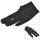 Yo-Yo Polyester Cotton Protection Glove - Black