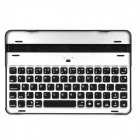 Portable Wireless 2.4GHz Bluetooth V3.0 66-Key Keyboard for Ipad MINI - Silver