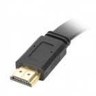 HDMI V1.4 Male to Male Flat Connection Cable - Black (300CM)