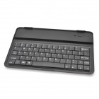 Portable Bluetooth V3.0 Multimedia 61-key Keyboard for iPad Mini - Black