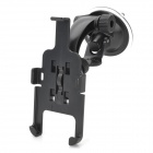360-Degree Rotation Car Mount Holder w/ Suction Cup + Bracket for Iphone 5 - Black