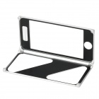 Cool Protective Aluminum Alloy Case Frame w/ Magnetic Closure for Iphone 5 - Silver