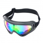 Outdoor Motorcycle Riding Cool Windproof Goggles - Black