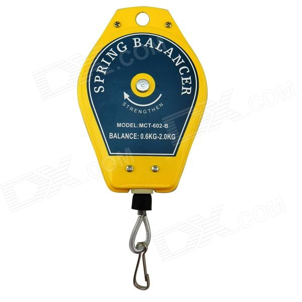 MCT-602-B Convenient Style Spring Balancer - Yellow (0.6~2.0KG)