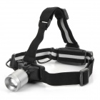 Great Wealth d301 Cree XP-G Q5 240lm 3-Mode White Zooming Flashlight - Silver + Black (1 x 18650)
