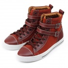 Jike 90032 Fashion Casual Style Men's Merchant Shoes - Reddish Brown (Size 42)